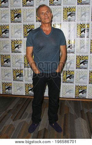SAN DIEGO - July 20:  Richard Sammel at the Comic-Con Day One at the Comic-Con International on July 20, 2017 in San Diego, CA