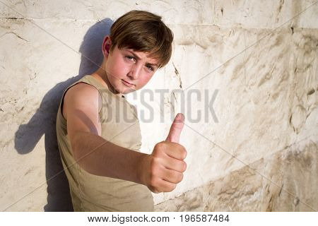 Cool Kid giving the thumbs up
