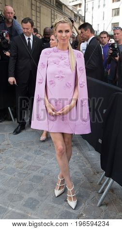 PARIS, FRANCE - JULY 05:  Nicky Hilton  attends the Valentino Haute Couture Fall/Winter 2017-2018 show as part of Paris Fashion Week July 5, 2017  Paris, France