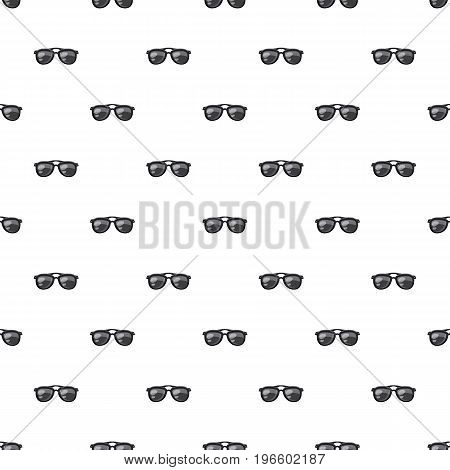 Sunglasses pattern seamless repeat in cartoon style vector illustration