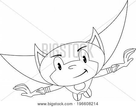 Superhero Outline 2