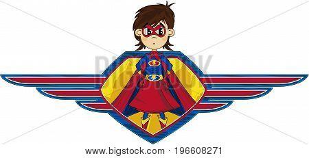 Superhero Girl Shield