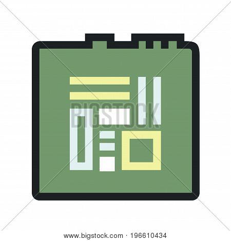 Computers and electronics technology icon. Vector Icon EPS8