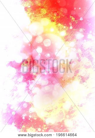 Abstract cosmic space. color abstract background. Pink color