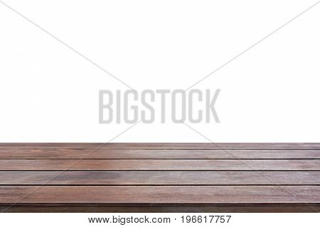 Old dark brown wood table top - can be used for display or montage your products