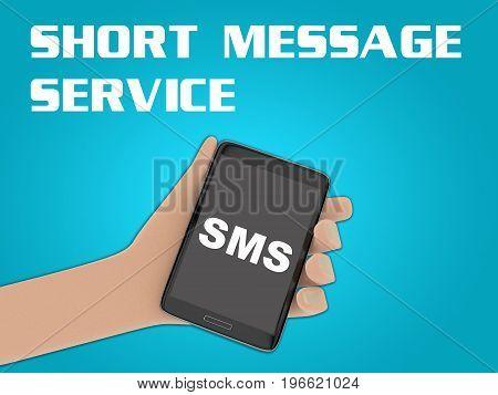 Sms - Short Message Service Concept