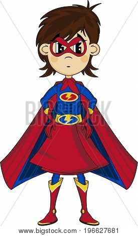Cute Supergirl Hero