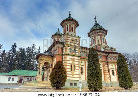 The Great Church at the Sinaia Monastery, Romania