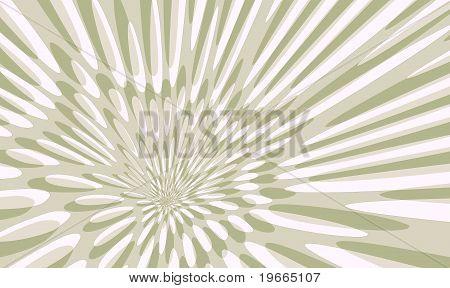 Pale Green Flower Pattern