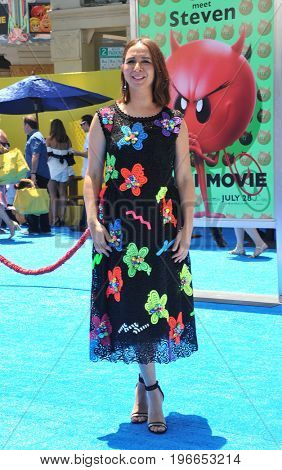 Maya Rudolph at the Los Angeles premiere of 'The Emoji Movie' held at the Regency Theatre in Westwood, USA on July 23, 2017.