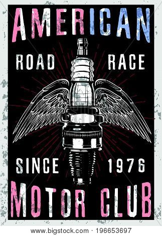 Vintage Motorcycle T-shirt Graphic fashion style new trend