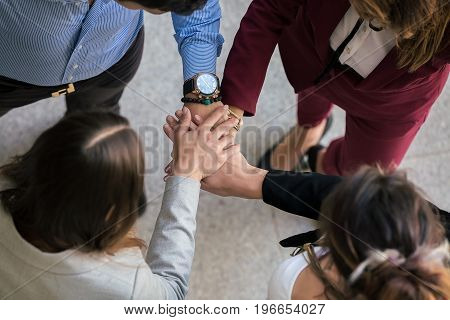 People Collaborating In Office