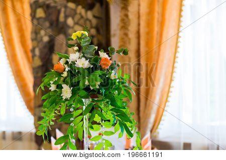 Decorations wedding ceremony. Wedding decoration receipts dream.