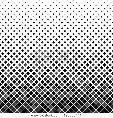 Grey abstract square pattern background - vector illustration from diagonal squares