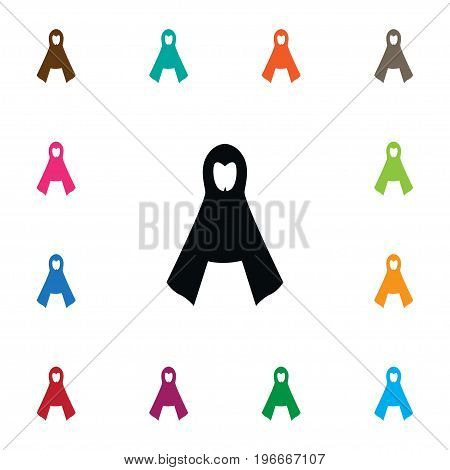 Protection Jacket Vector Element Can Be Used For Raincoat, Protection, Jacket Design Concept.  Isolated Raincoat Icon.