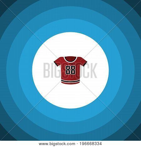 T-Shirt Vector Element Can Be Used For Shirt, Uniform, Blouse Design Concept.  Isolated Uniform Flat Icon.