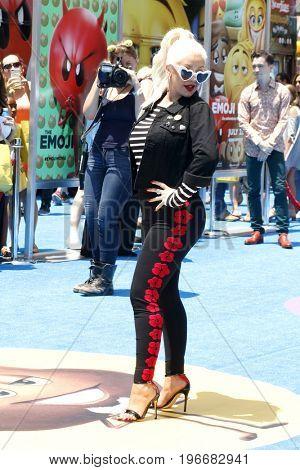 LOS ANGELES - JUL 23:  Christina Aguilera at