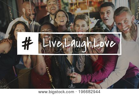 Live Laugh Love Together Merry Christmas