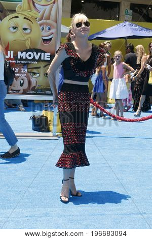 LOS ANGELES - JUL 23:  Anna Faris at