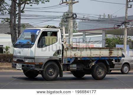 Private Mitsubishi Canter Cargo Truck.