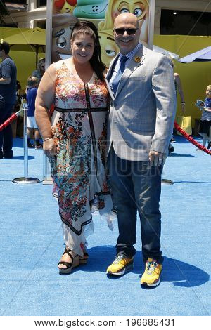 LOS ANGELES - JUL 23:  Michelle Raimo, Tony Leondis at