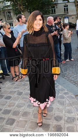 PARIS, FRANCE - JULY 04:  Actress Geraldine Nakache  attends Vogue Foundation Dinner  as part of Paris Fashion Week  Haute Couture Fall/Winter 2017-2018 July 4, 2017  Paris, France