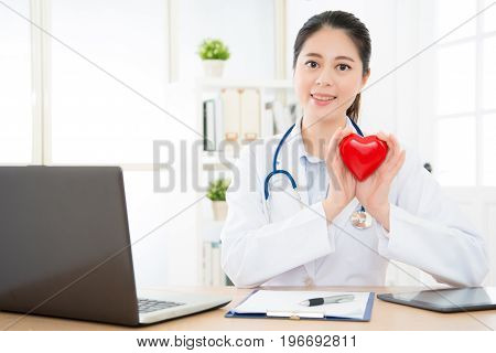 Beautiful Elegant Women Rights Cardiology Doctor