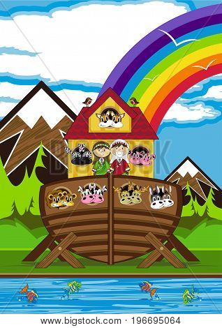 Noah & Ark Scene