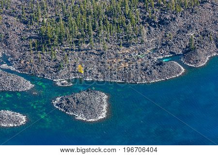 Wizard Island, Crater Lake Details