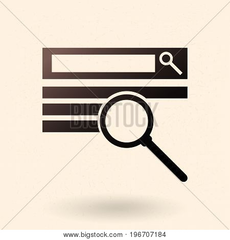Vector Single Seo Icon.