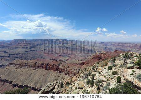 The Grand Canyon in Arizona. United States
