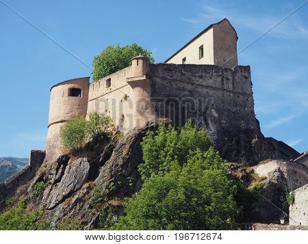 Old Castle Of Corte, Corse, France