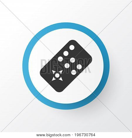Premium Quality Isolated Controller Element In Trendy Style.  Remote Icon Symbol.