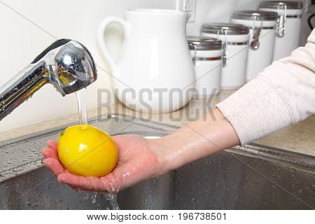 Lemon In The Sink