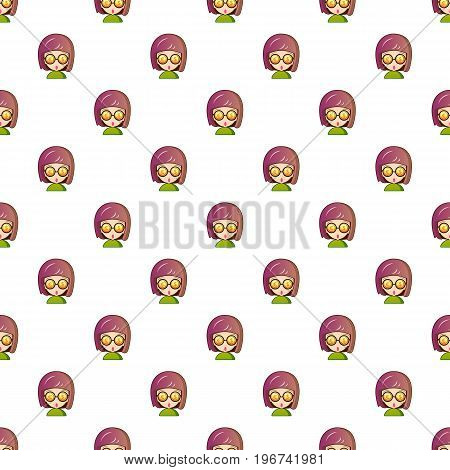 Coins in eyes pattern seamless repeat in cartoon style vector illustration