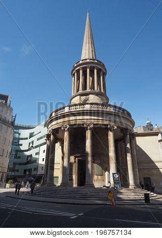 All Souls Church In London