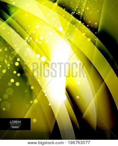 Shiny glittering abstract background