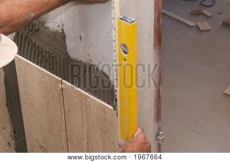 Intalling tiles