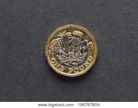 1 Pound Coin, United Kingdom
