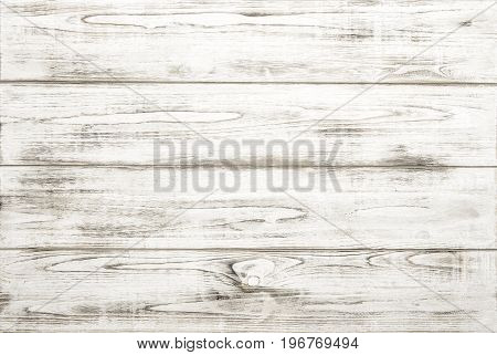Wood texture background with natural pattern. White wooden backdrop