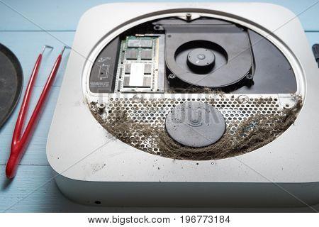 Broken Office Computer In Service