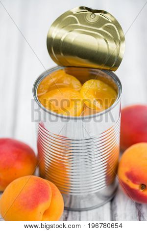 Portion Of Pickled Apricots
