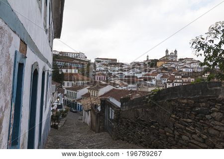 Ouro Preto in the state of Minas Gerais is one of Brazil's best-preserved colonial towns and a UNESCO world heritage site. Ouro Preto is one of the most popular travelling destinations in Brazil.