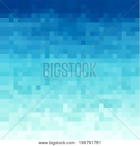 Abstract water background with square texture- raster version