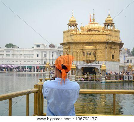 Golden Temple In Amritsar, India
