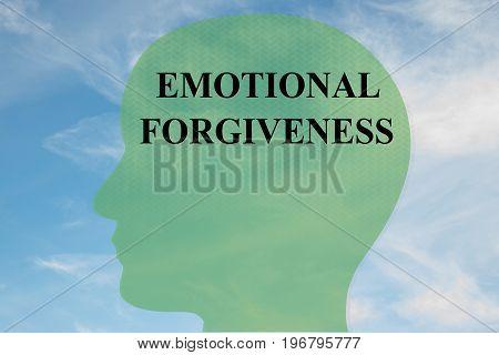 Emotional Forgiveness Concept