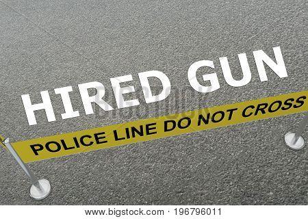Hired Gun Concept