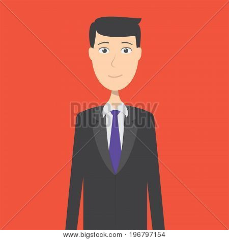 Banker Character Male | set of vector character illustration use for human, profession, business, marketing and much more.The set can be used for several purposes like: websites, print templates, presentation templates, and promotional materials.