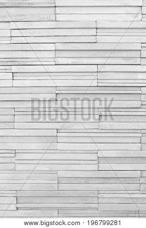 White brick stone wall for the design nature background.