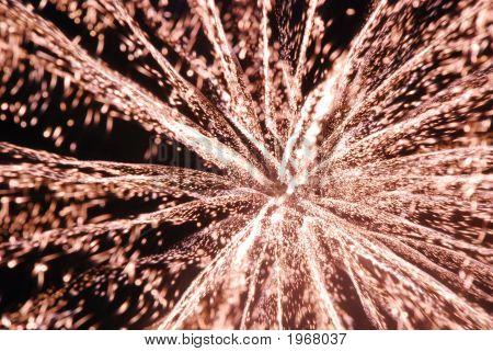 3D Fireworks
